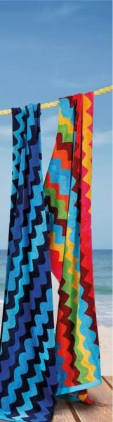 Strandtuch Sporting verschiedene Farben 75x150cm