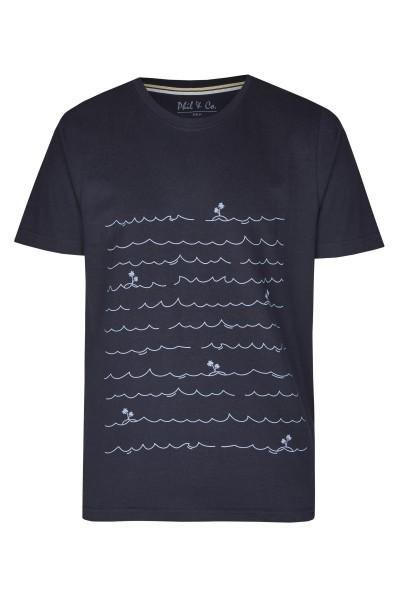 Herren Shirt 642-00 gemustert