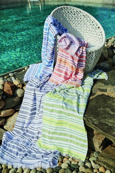 Strandtuch Lavandou in verschiedenen Farben 90x170cm