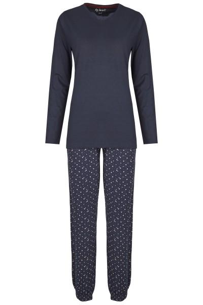 Damen Pyjama Set 582-00 marine