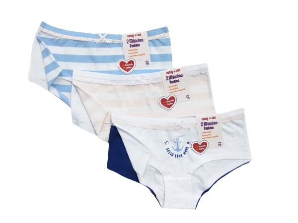 Mädchen Panty 2er Pack
