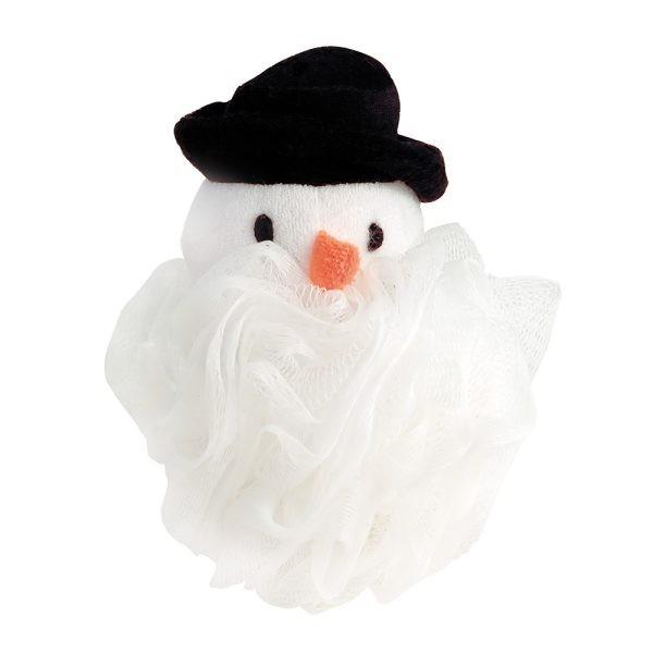 Tüllschwamm Schneemann