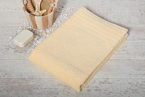 Duschtuch vanille Größe 70x140cm