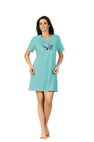 Damen Nachthemd 181203 koralle