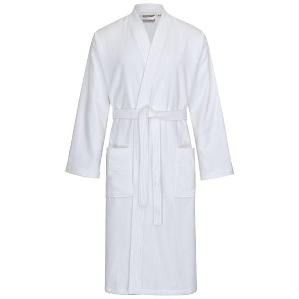 Bademantel Kimono 303 weiß Gr. XL