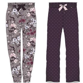 Damen Hose 572-00 lang in der Farbe lila Gr. XXL