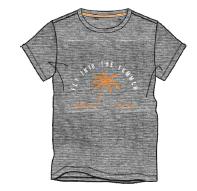 Herren Jersey T-Shirt 636-00 meliert