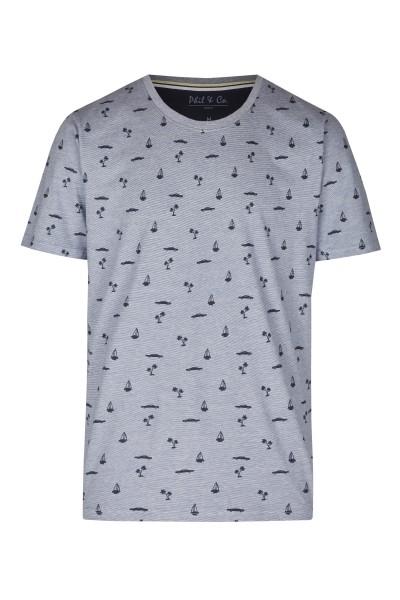 Herren Shirt 642-00 hellblau