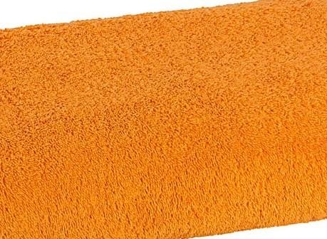 sowh Waschhandschuh orange 17x22cm