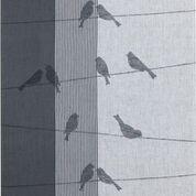 Geschirrtuch Jacquard Motiv: Zugvögel