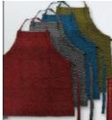 Schürze 70x85cm verschiedene Farben