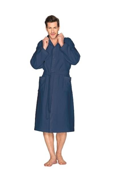Bademantel Kimono marine 3541