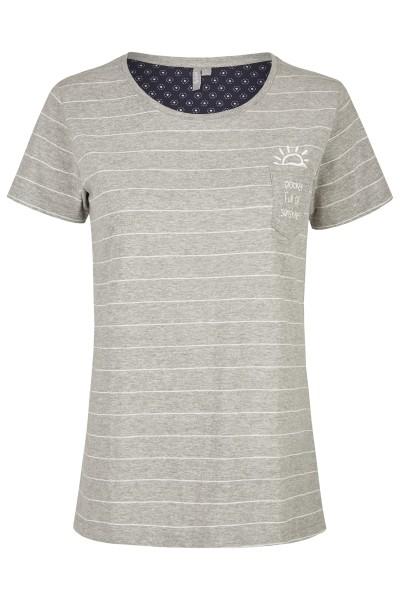 Damen Shirt 693-00 grau