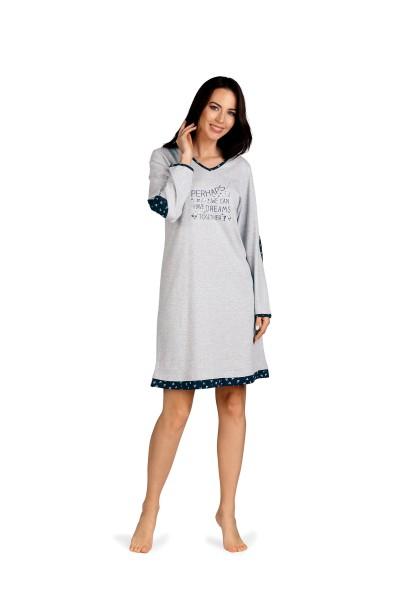Damen Nachthemd 192235 grau