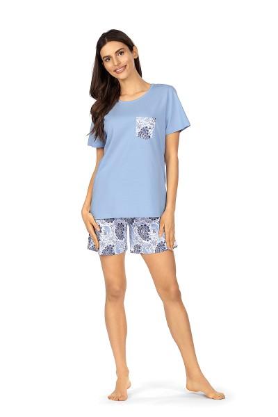 Damen Nachthemd 211303/37 bleu