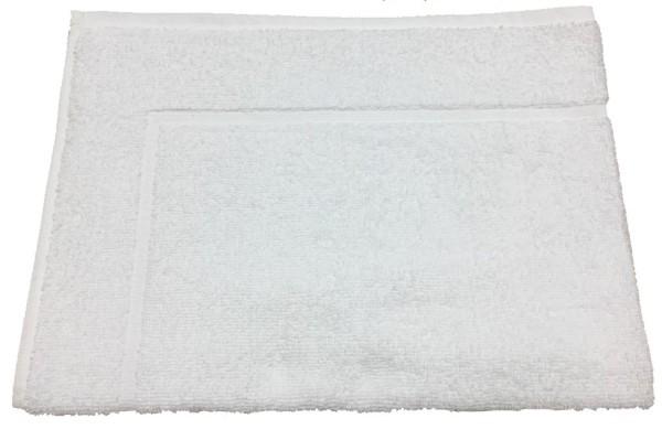 Badevorleger weiß 50x70cm