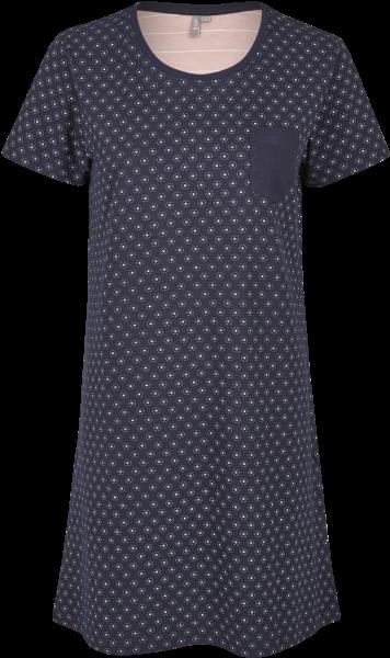 Damen Sleepshirt 691-00 blau