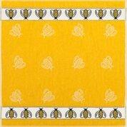 Frottier Geschirrtuch Baumwolle mit Motiv:Bienen