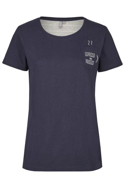 Damen Shirt 693-00 blau