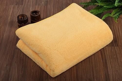 Kuscheldecke Farbe gelb 155x200cm