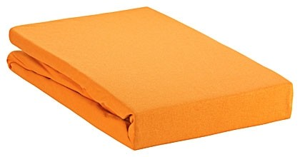 Spannbettlaken Green 200x220cm orange