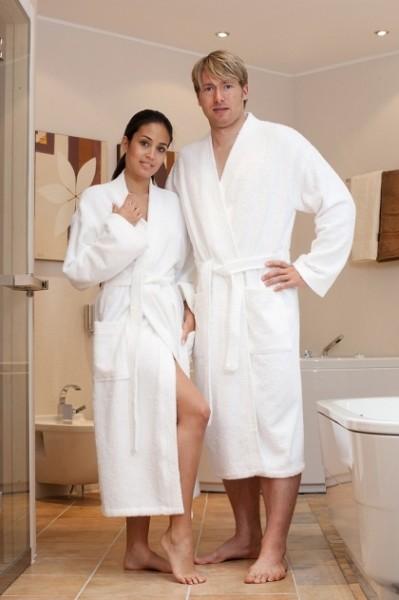 Kimono strapazierfähig Farbe weiß 400