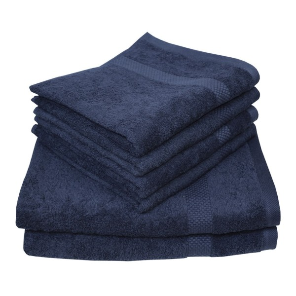 Handtuch blau 50x100cm