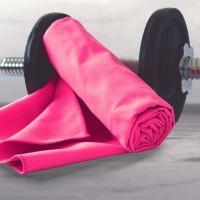 Sporttuch Mikrofaser 80x180cm pink