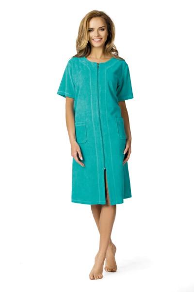 Strandkleid in der Farbe smaragd 61212 Gr. S