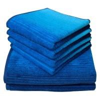 Duschtuch Colori blau