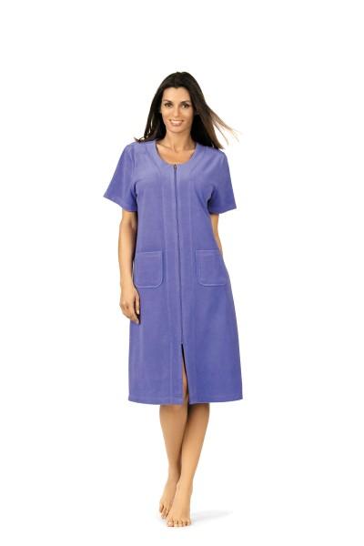 Strandkleid Frottee 181222 in der Farbe blau Gr. S