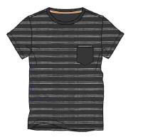 Herren Jersey T-Shirt 636-00 gestreift