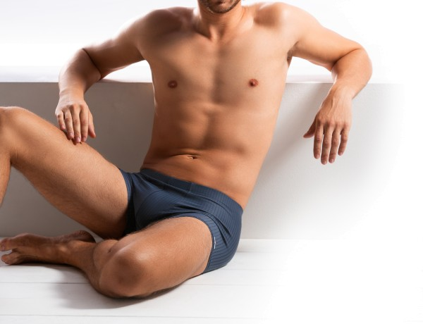 Herren Pants 00885 353 blau