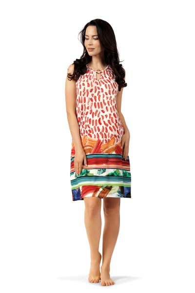 Damen Kleid 201253 rot