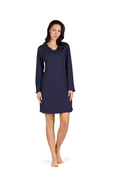 Damen Nachthemd 192237 dunkelblau