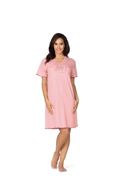Damen Nachtemd 181261 rosa