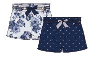 Damen Shorts 680-00 Blumen