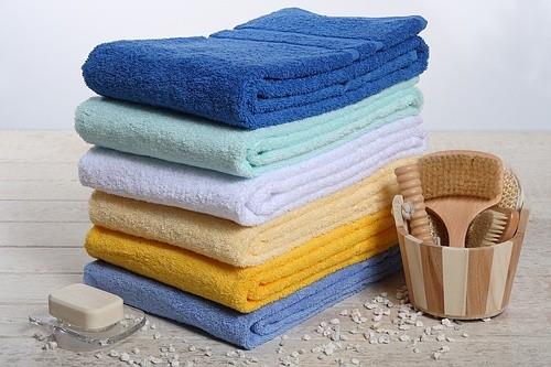 Handtuch LIN Größe:50x100cm Farbe: weiß