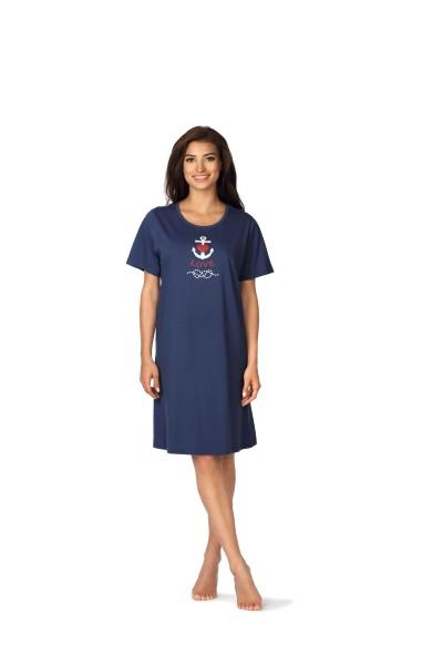 Damen Nachthemd 191217 rot