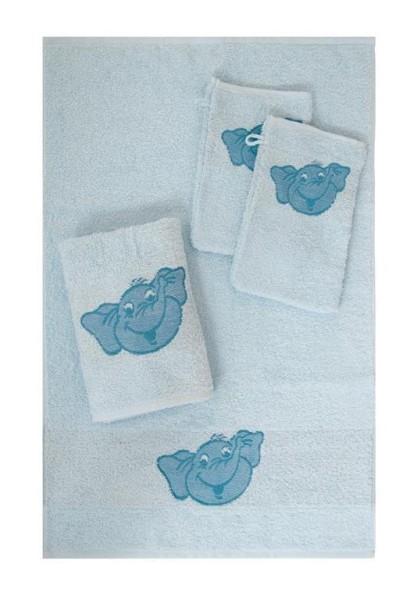 Waschhandschuh Bimbo in bleu Größe 16x21cm