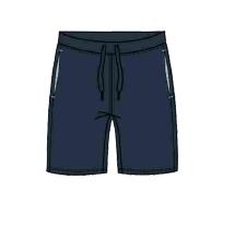 Herren Bermuda 641-00 blau