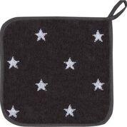 Topflappen Baumwolle Motiv: Sterne schiefer
