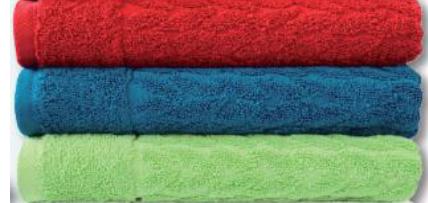 Gästeuch Zopf verschiedene Farben 30x50cm