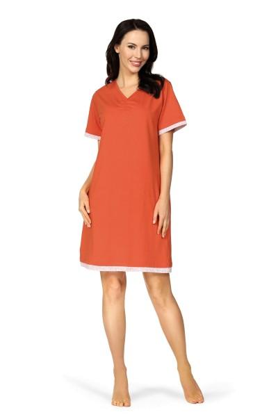 Damen Nachthemd 201224/18 dunkelblau