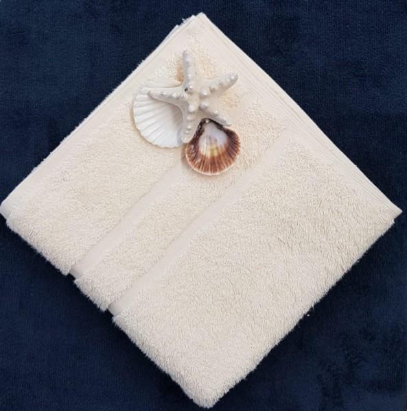 Handtuch Farbe vanille Größe: 50x100cm