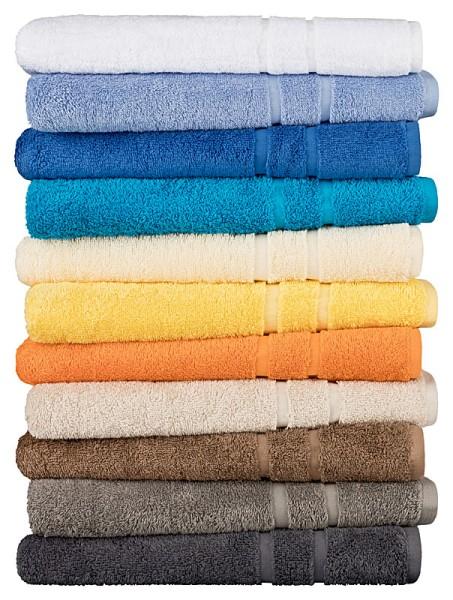 Handtuch Line-Star Farbe: orange Größe:50x100cm