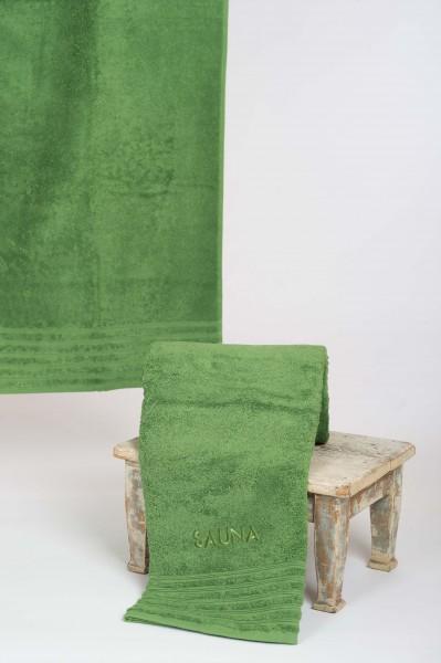 Saunatuch WEWO - grün