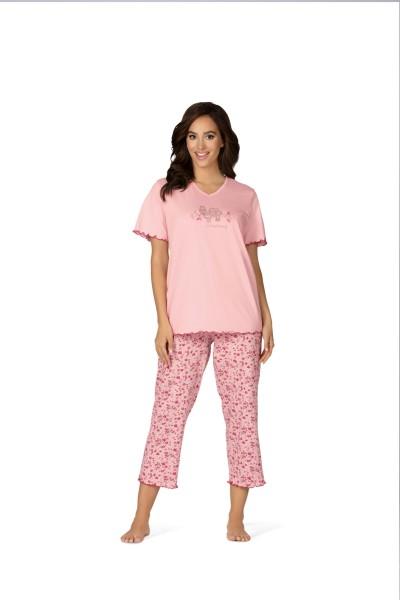 Damen Schlafanzug 181361 rosa