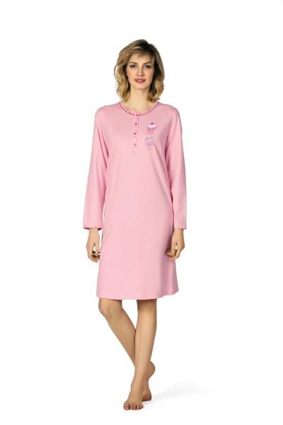 Damen Nachthemd 172227 rosa