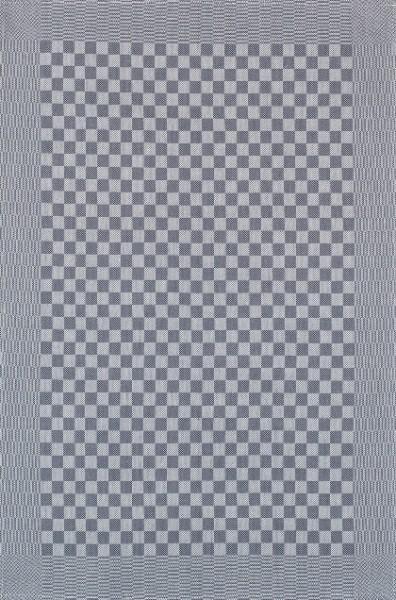 Grubentuch Baumwolle Vollzwirn grau